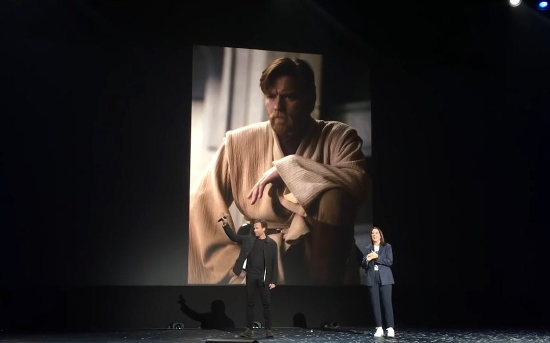 Ewan McGregor Crashes D23 as 'Obi-Wan Kenobi' Series Heads to Disney+