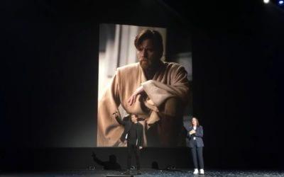 Ewan McGregor Crashes D23 as 'Obi-Wan Kenobi' Series Heads to Disney+