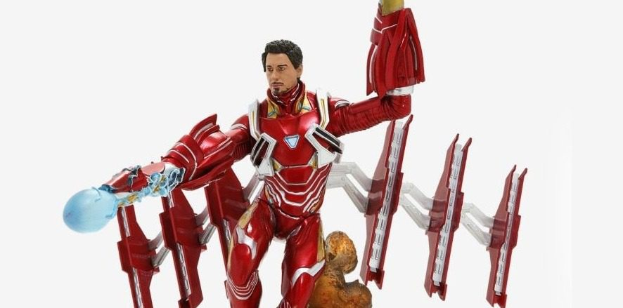 Diamond Select Marvel Gallery Avengers: Infinity War Unmasked Iron Man MK50 (Video Review)