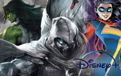 Marvel Studios and Disney+ Announces 'She-Hulk' 'Moon Knight' and 'Ms. Marvel' Shows