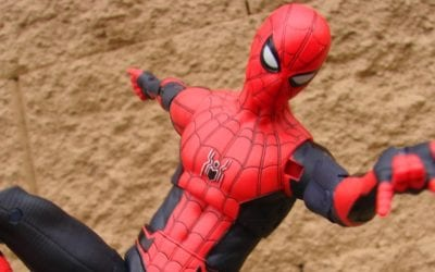 A New Diamond Select Spider-Man Far From Home Figure Is Headed To The Disney Story