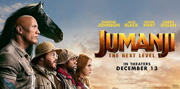 'JUMANJI: THE NEXT LEVEL' (REVIEW)