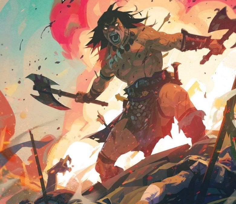 CONAN THE BARBARIAN #13 (REVIEW)
