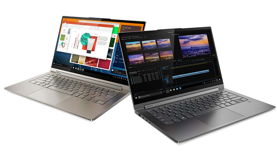 Lenovo Yoga C940 14 and 15. Sharper than I'd Like.