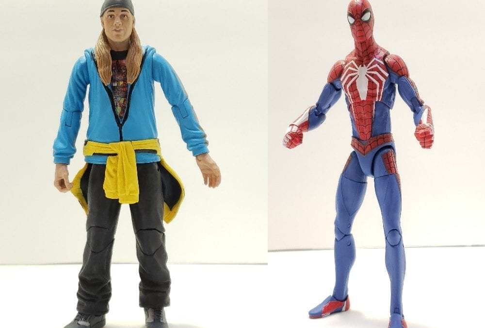 Jay & Silent Bob Reboot and Spider-Man Diamond Select Figures (Review)