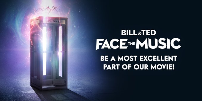 Bill and Ted Face The Music Want You to Party On!