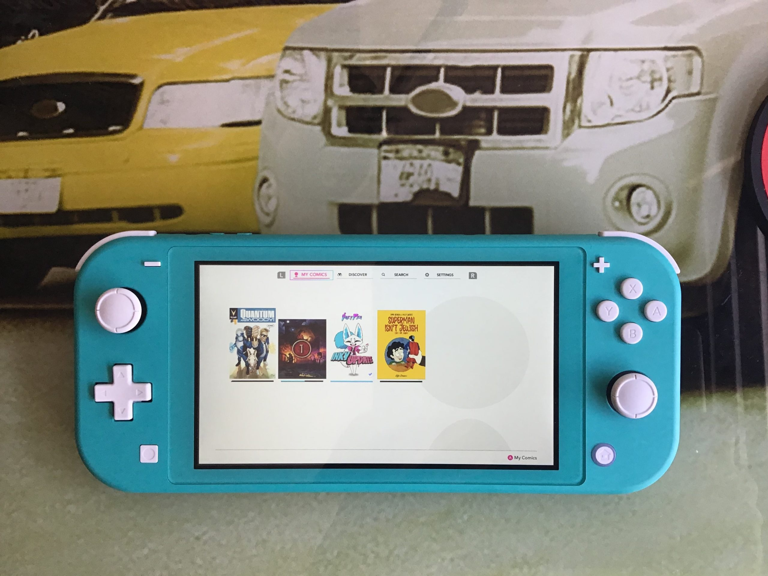 blue switch lite
