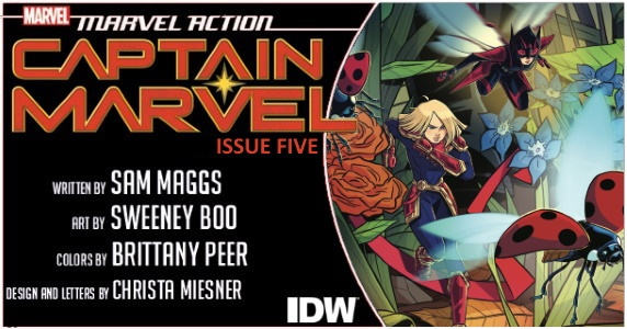 Captain Marvel #5 (Review)