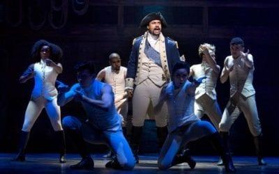 "Lin-Manuel Miranda's 'Hamilton"" set for Disney plus in July"