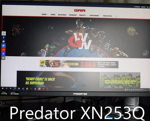 Acer Predator XN253Q – Buy the Nitro VG240YP Instead