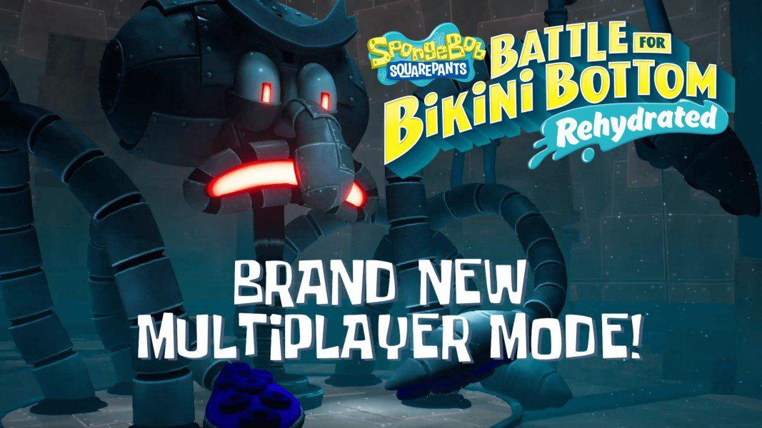 New multiplayer trailer for SpongeBob SquarePants: Battle for Bikini Bottom – Rehydrated shows brand new horde mode