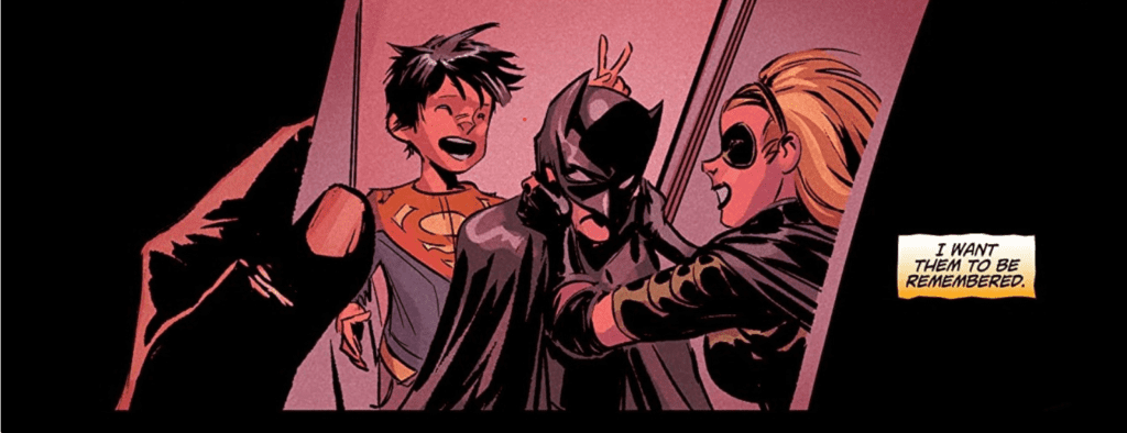 I know I'm not alone in saying that Stephanie (donning her Robin costume, of all outfits) playing around with the Supersons in one of Jimmy's photos made this issue worth the price of admission alone.