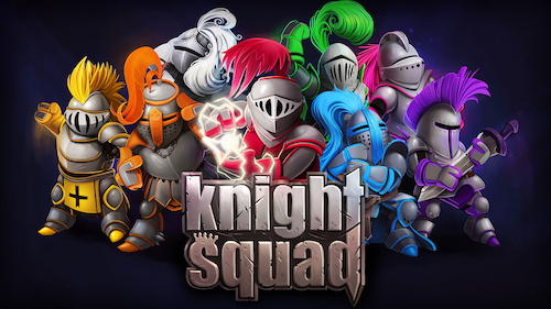 Knight Squad, the 8-player Medieval Rumble, is Now on the Nintendo Switch!