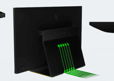 Razer Raptor cable management