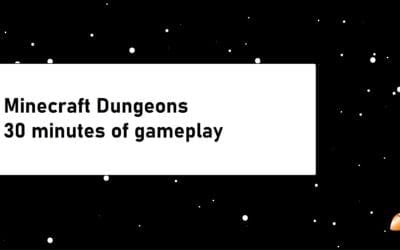 30 Minutes of Minecraft Dungeons Gameplay