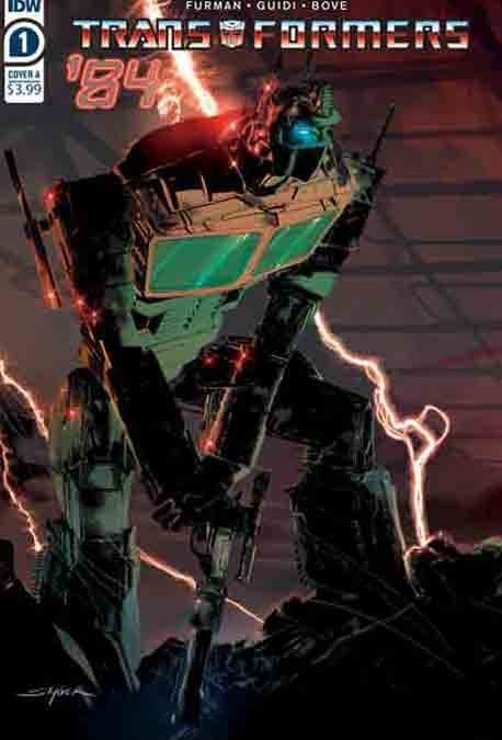 TRANSFORMERS `84: SECRETS AND LIES #1 (REVIEW)