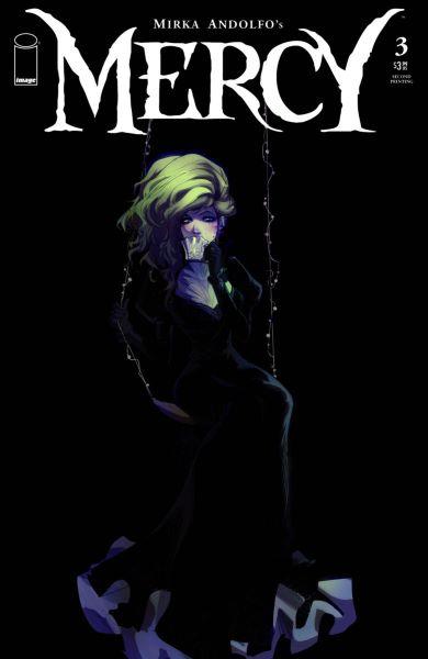 Mirka Andolfo's Gothic #3 gets 2nd Printing