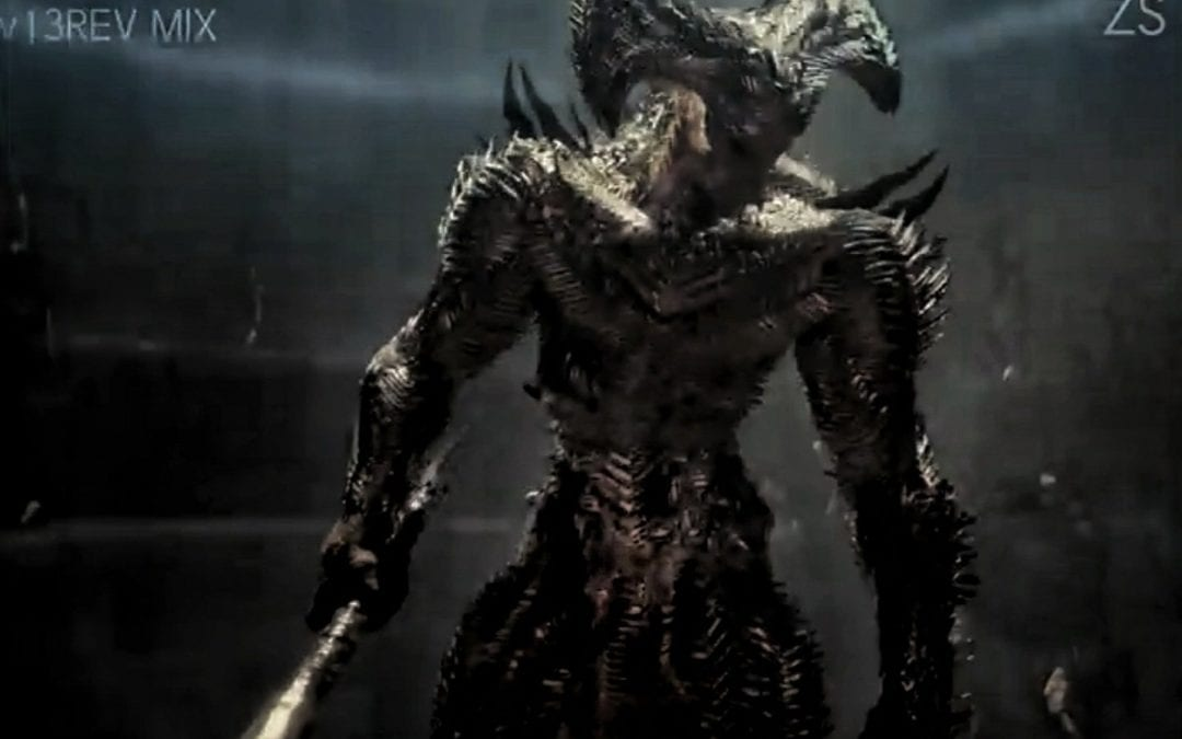 First Look At the Original Steppenwolf Design in Zack Snyder's Justice League