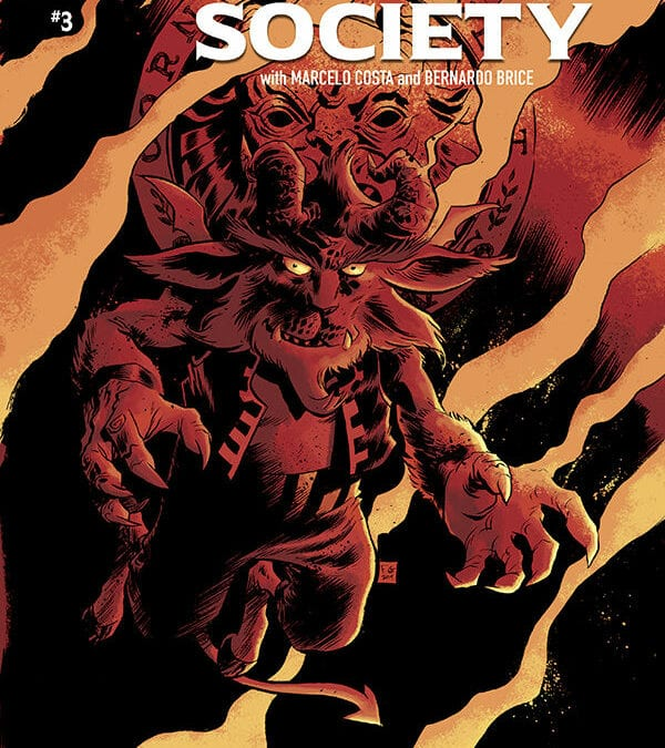 Hidden Society # 3 (REVIEW)