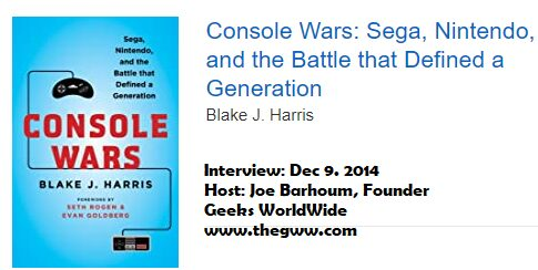 Games Podcast: 167 | Blake J. Harris Author of Console Wars