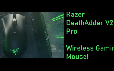 Razer DeathAdder V2 Pro – Solid Wireless Gaming with a Classic Design