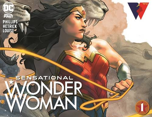 Digital First Series to Celebrate Wonder Woman 80th Anniversary