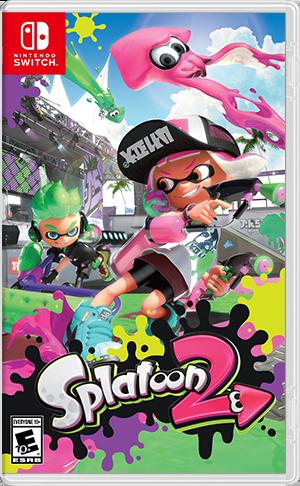 Nintendo Switch game Splatoon