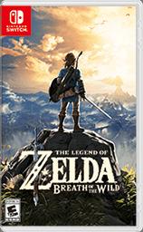 Nintendo Switch game The Legend of Zelda Breath of the Wild