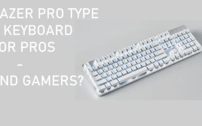 Razer Pro Type Keyboard is a good first GEN