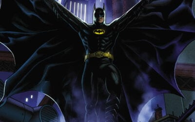 Batman '89 and Superman '78 movie worlds turning into comic books