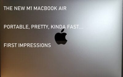 M1 Macbook Air – First Impressions Are…Mostly Positive