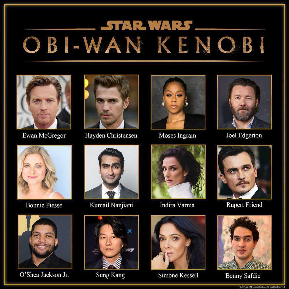Who is in the Obi Wan Kenobi Show