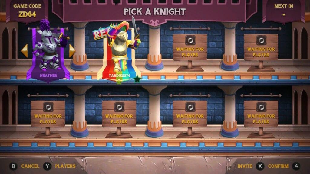 Knight Squad 2 room