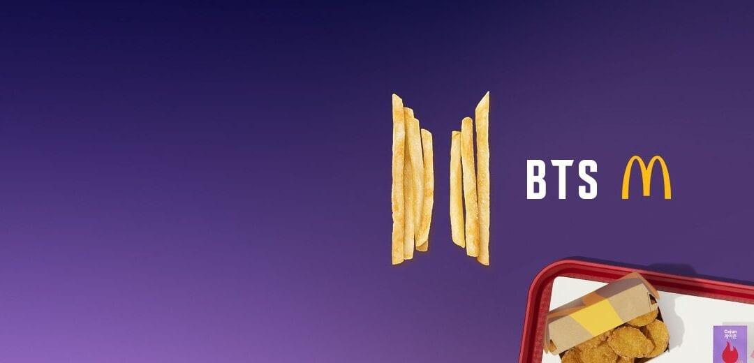 BTS x Mcdonalds