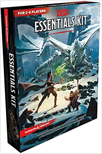 D&D Essential's Kit or as we like to call it... The Box