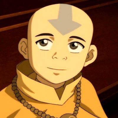 Avatar Aang on Netflix