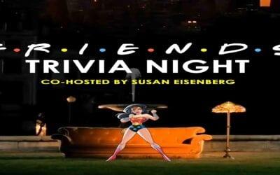 "Geek To Me Radio #236: Susan Eisenberg Co-Hosts ""Friends"" Trivia LIVE"