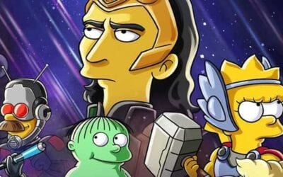 Tom Hiddleston Marvel Simpsons Crossover – The Good, The Bart, and the LokI!