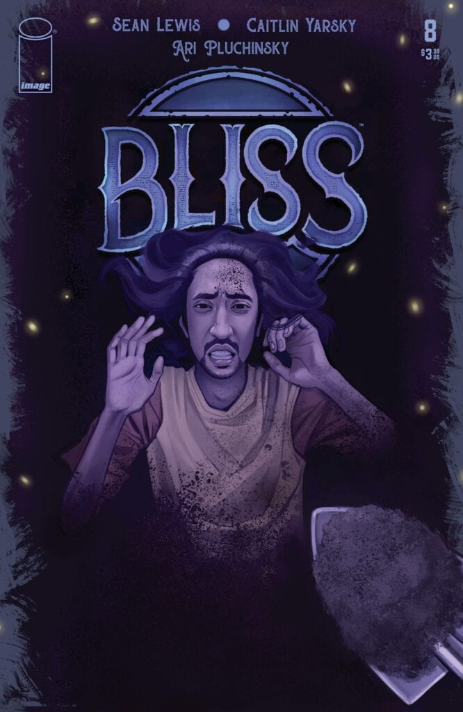 Image Comics Bliss # 8 Cover.  Is Benton being buried or raised and restored?