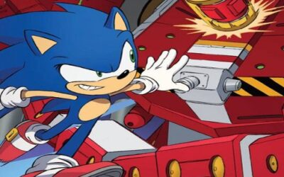 SONIC THE HEDGEHOG #40 (REVIEW)