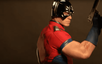 FIRST LOOK Peacemaker – Freddie Stroma As Vigilante