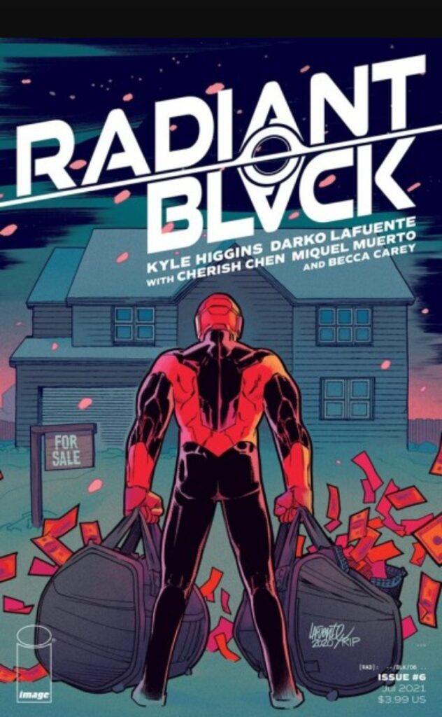 Radiant Black # 6 Cover A Artist(s): Darko Lafuente w Miquel Muerto
