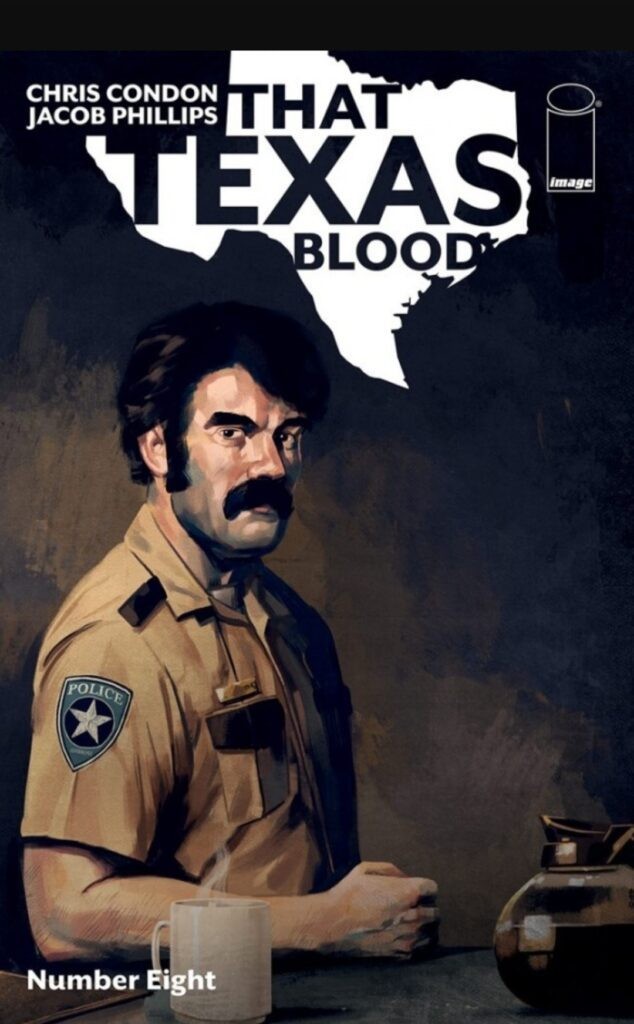 Cover That Texas Blood # 8
