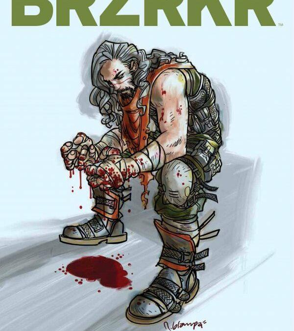 BRZRKR #4  (REVIEW)