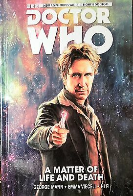 Doctor Who: A Matter of Life and Death Volume 1 cover for review
