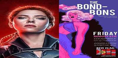 """Geek To Me Radio #244: James Bond Burlesque – """"Black Widow,"""" """"Snake Eyes,"""" And """"DUNE"""" w Bret of Marcus Theaters"""