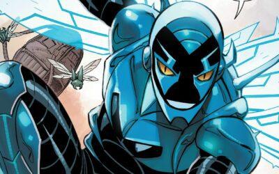 COBRA KAI STAR XOLO MARIDUEÑA IS DC'S BLUE BEETLE