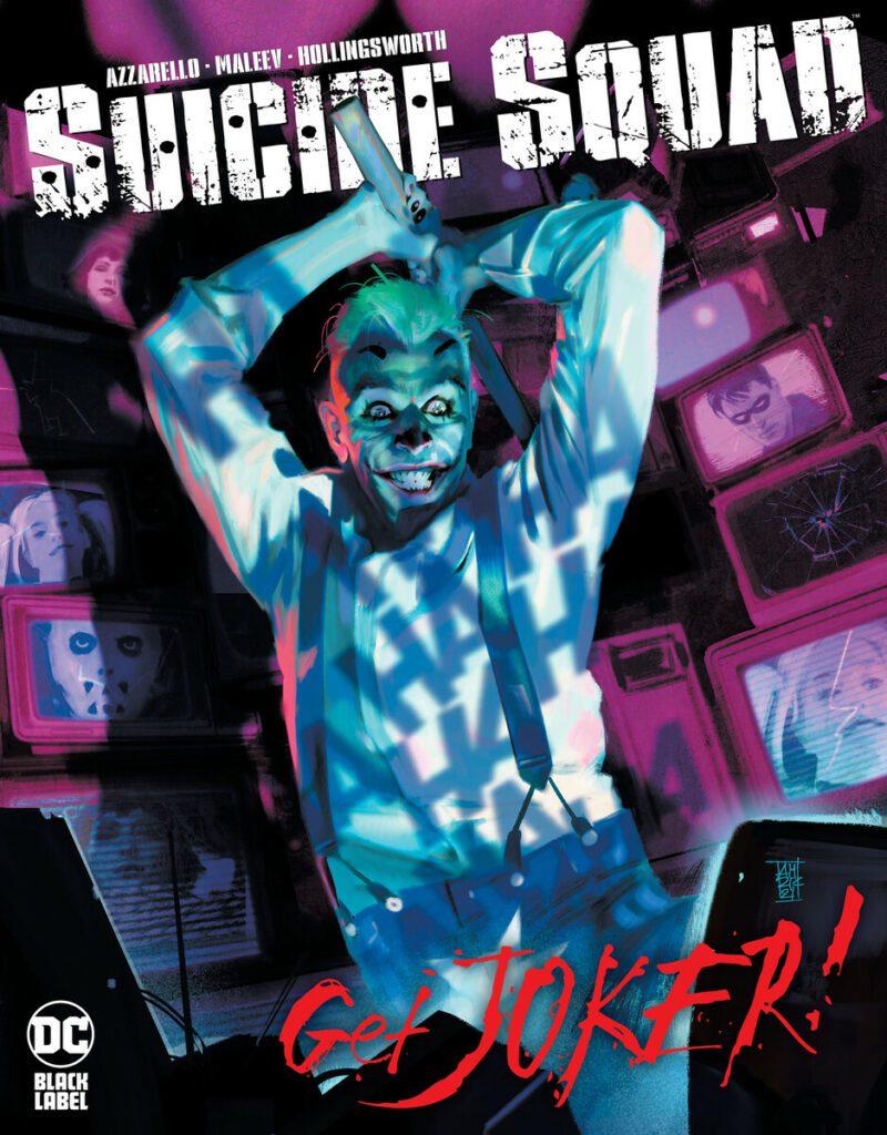 Suicide Squad: Get Joker #1 Cover
