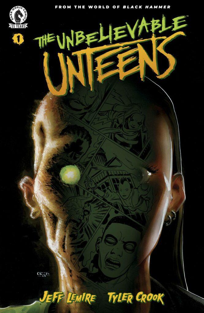 Dark Horse Comics The Unbelievable Unteens Cover