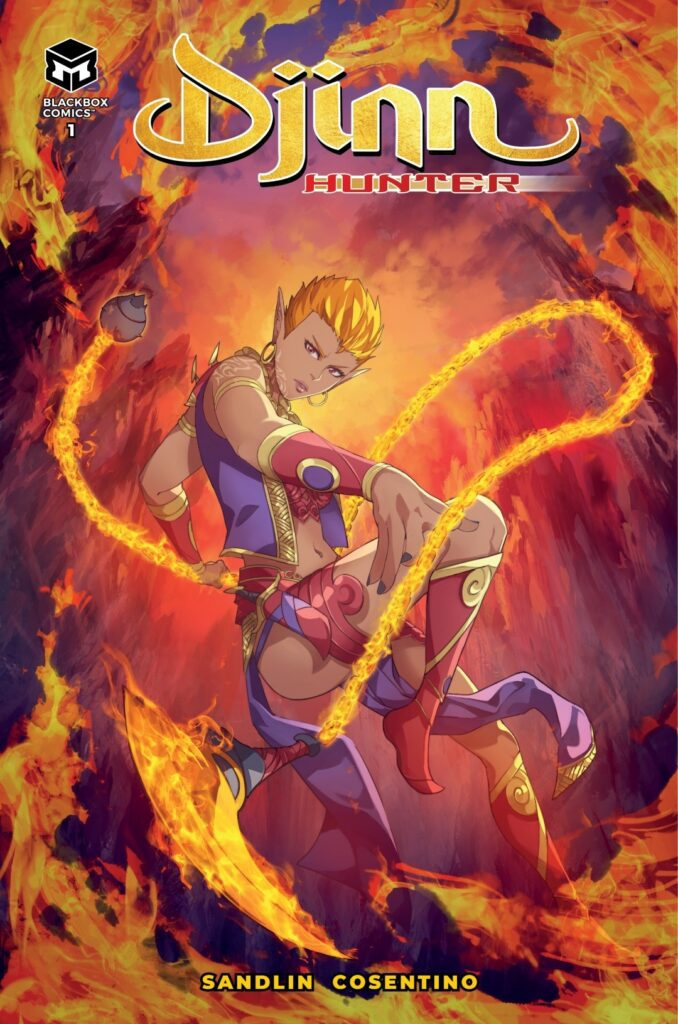 Cover Djinn Hunter # 1